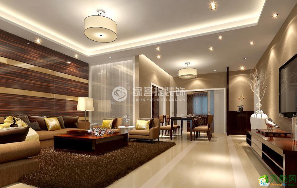 度假别墅645平米欧式风格装修案例图|绿菩提装饰