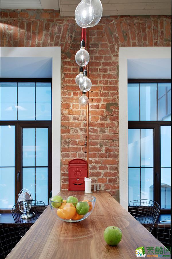 荣泰装饰―80方三室一厅美式风格装修效果图