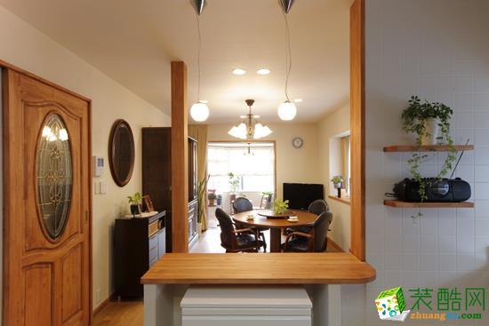 辽源精工装饰―90方两室一厅美式风格装修效果图