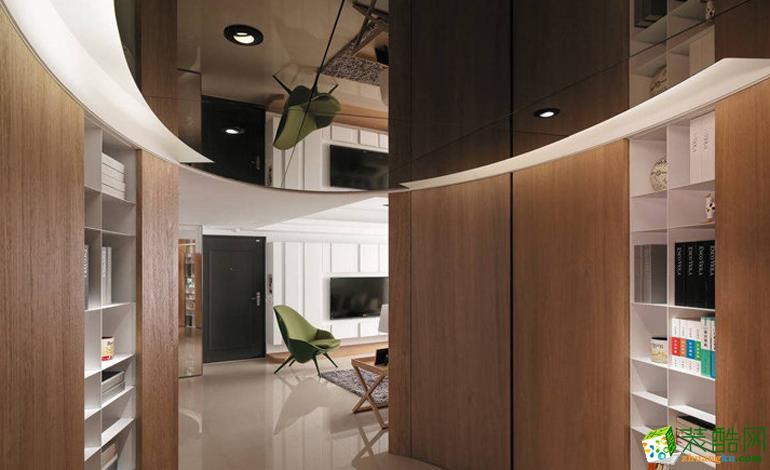 红苹果装饰―110方三室两厅装修效果图
