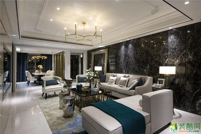 新古典风格150平米四室两厅装修案例图 金煌装饰