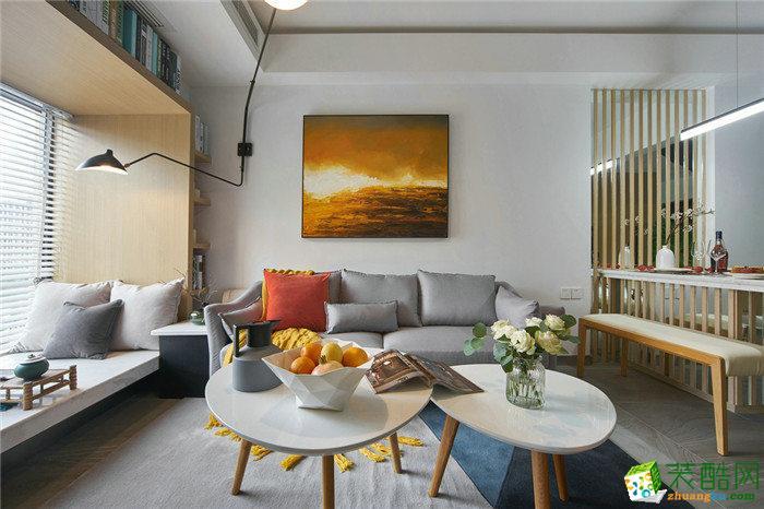 126平米现代简约风格三室两厅装修案例图|生活家装饰