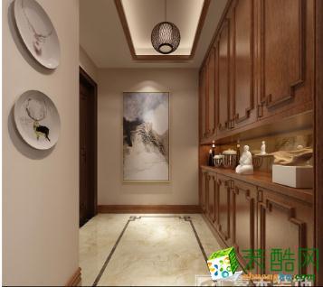 临沧嘉禾装饰-160平新中式风格装修效果图