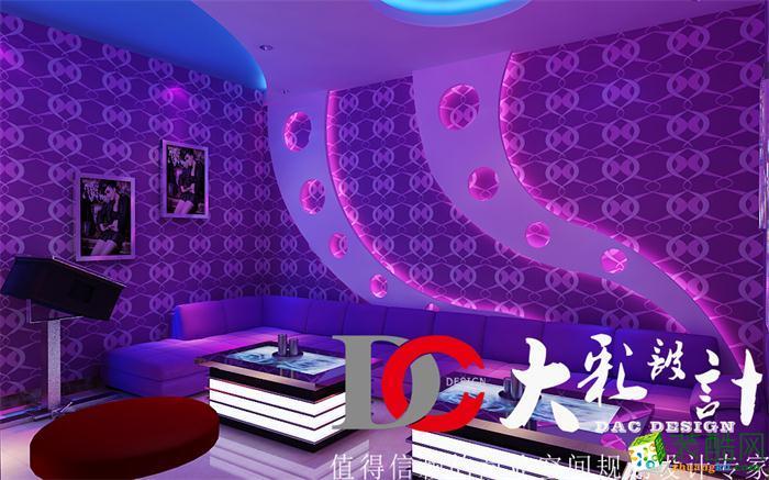 【大彩裝飾】量販式KTV豪華裝修效果圖