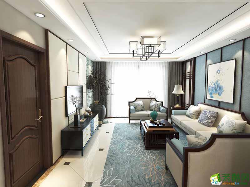 无锡中博装饰-中式三居室装修效果图