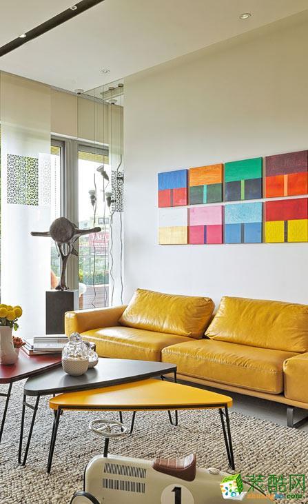 【盛典瑞家装饰】101平米现代简约三居室装修效果图