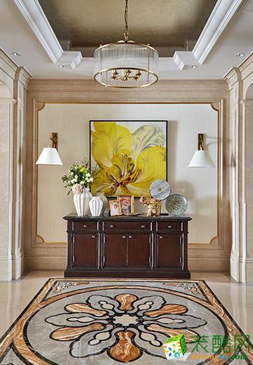 【盛典瑞家装饰】169方欧式风格四居室装修设计效果图