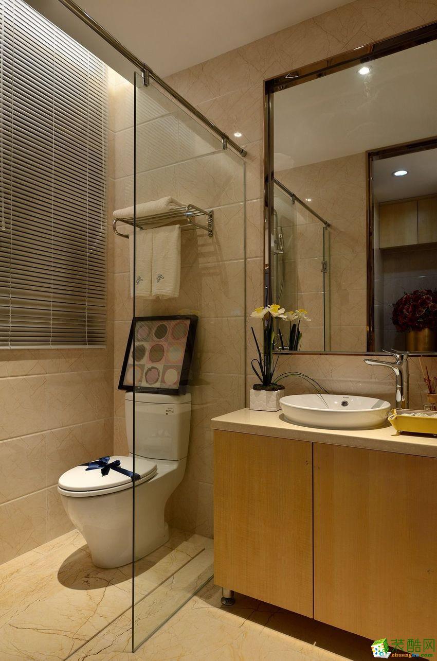 【九信装饰】三室两厅现代简约风格装修效果图