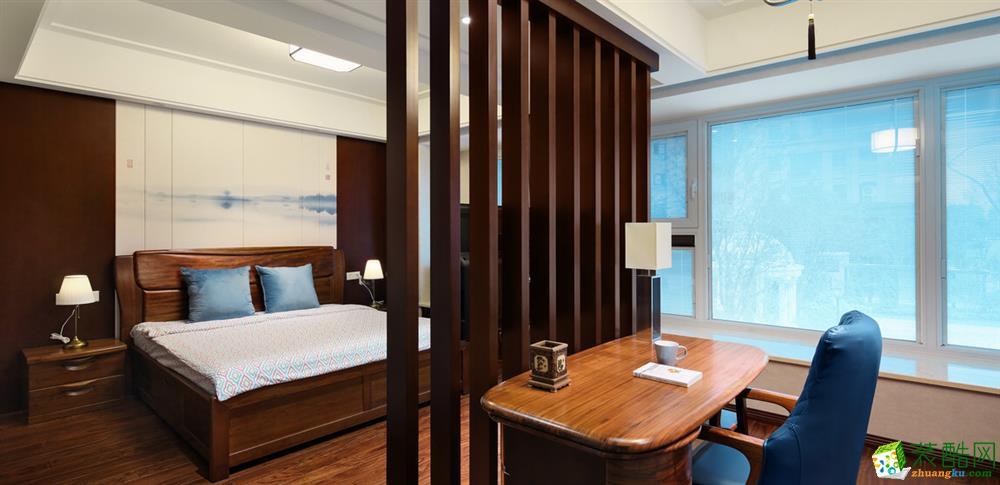 三室两厅 100平米 中式风格 装修效果图