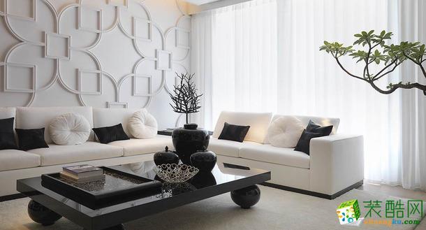 【梦想家园装饰】广厦天第 大户型 简约风格 装修设计效果图
