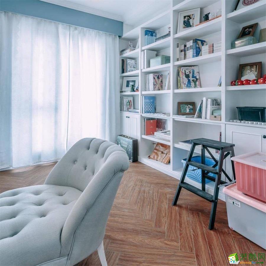 【武汉方林装饰】86方两室两厅清新北欧装修效果图