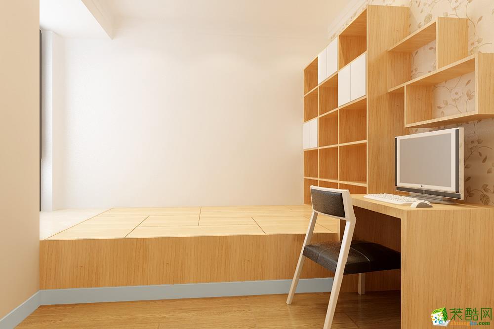 长沙大千装饰-现代简约三居室装修效果图