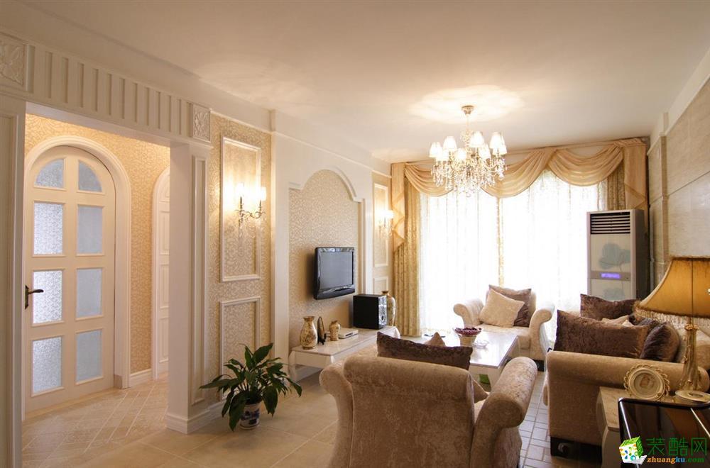 三室两厅 110平米 欧式风格 装修效果图