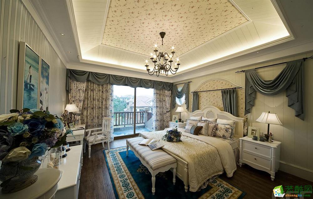 【龙发装饰】美式风格|三室两厅
