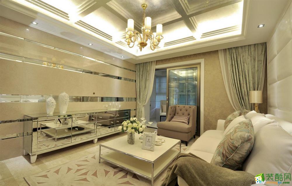 三室两厅 103平米 现代风格 装修效果图
