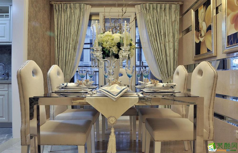 三室两厅|103平米|现代风格|装修效果图