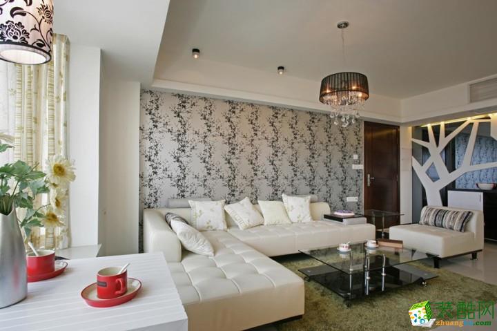 北歐風格138平米三室兩廳裝修案例圖|華納裝飾