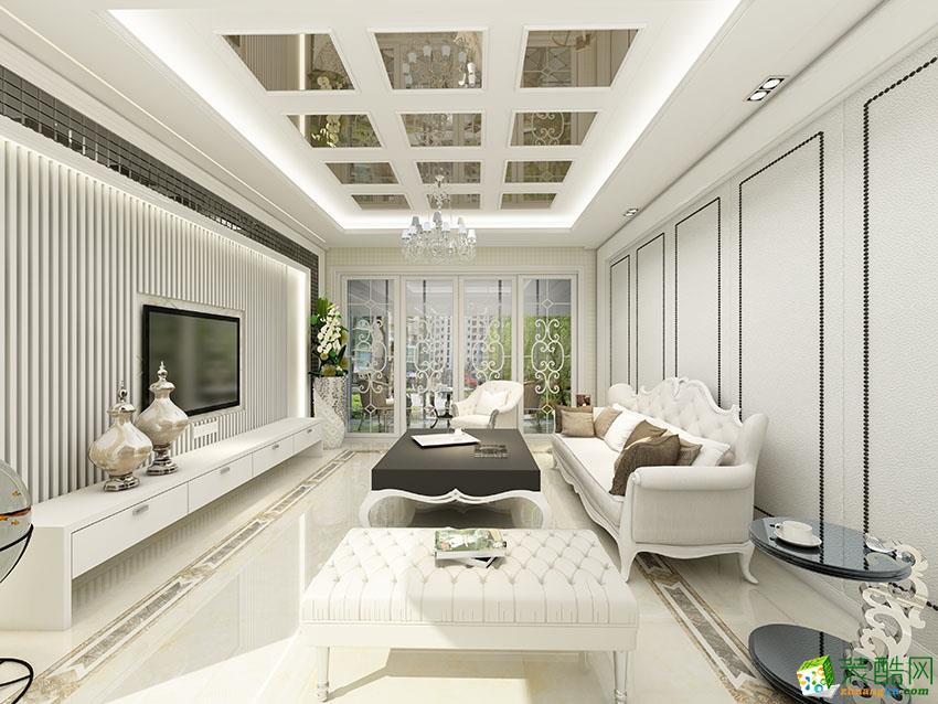 古典欧式风格143平米四室两厅装修案例图|鼎星装饰