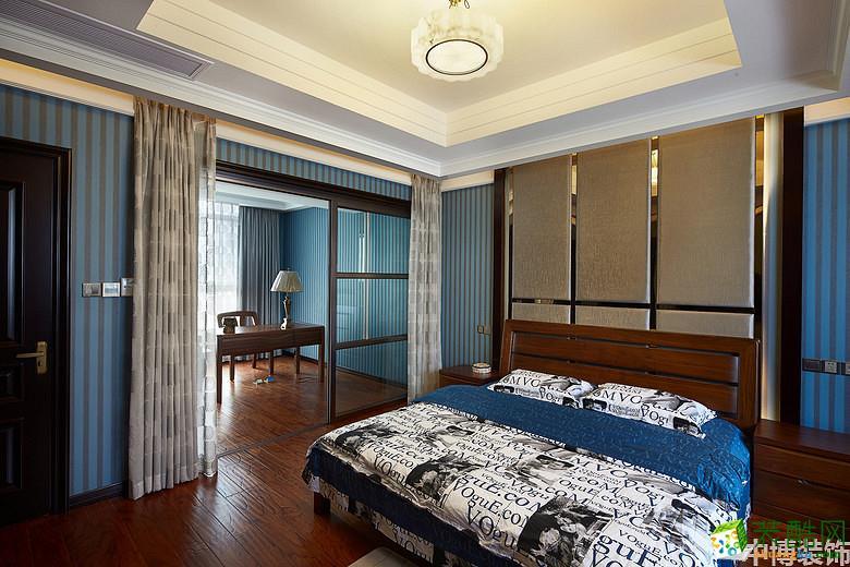 武汉中博装饰―280方中式风格别墅装修设计效果图