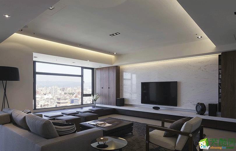 123平米港式风格四室两厅装修案例图|名人装饰