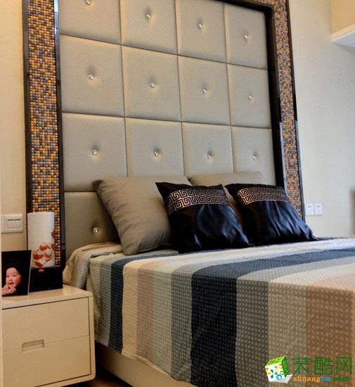 武汉名匠装饰―122方简约中式风格三居室装修设计效果图