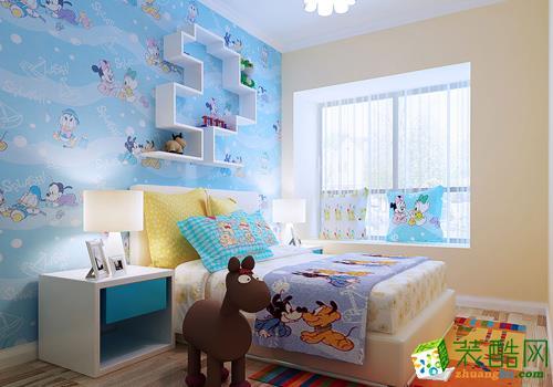 武汉名匠装饰―120方混搭风格三室两厅装修设计效果图