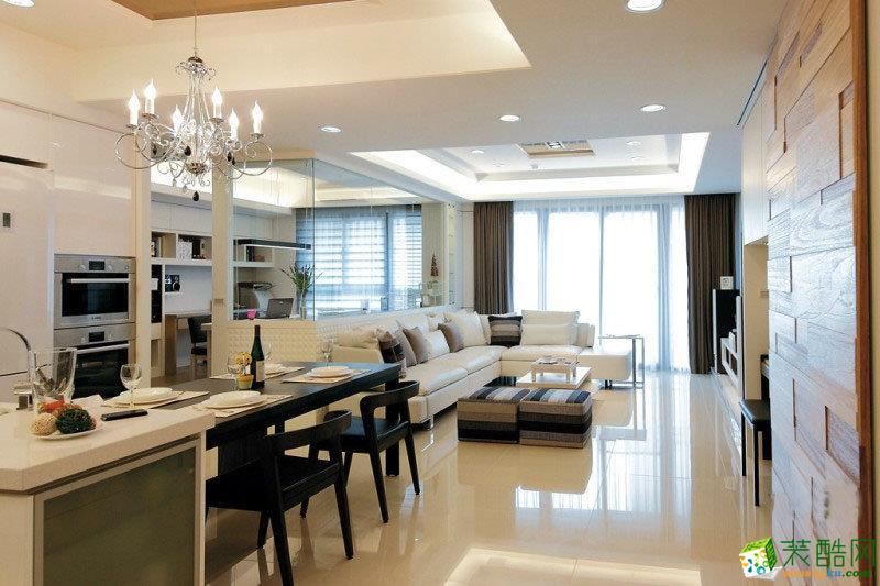 三室兩廳140平米|簡約風格|裝修效果圖