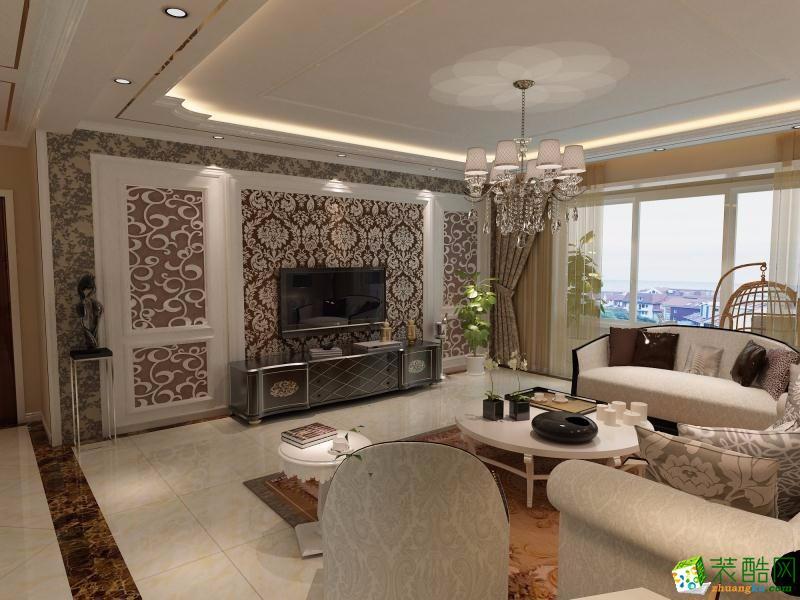 三室两厅102平米|现代风格|装修效果图