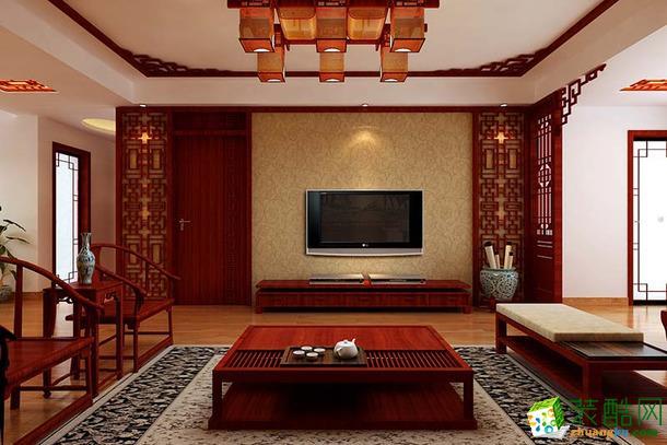 【尚雅装饰】南湖玫瑰湾  二居 中式风格 装修效果图