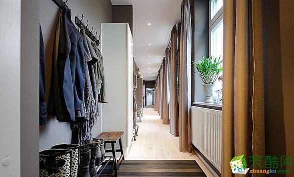 过道吊顶  云南昆仑装饰-145平新古典风格公寓