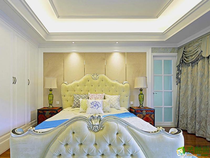 扬州苏匠装饰-简欧三室装修效果图