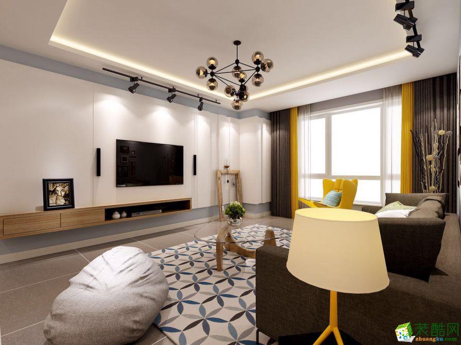 扬州聚能装饰-北欧三室装修效果图