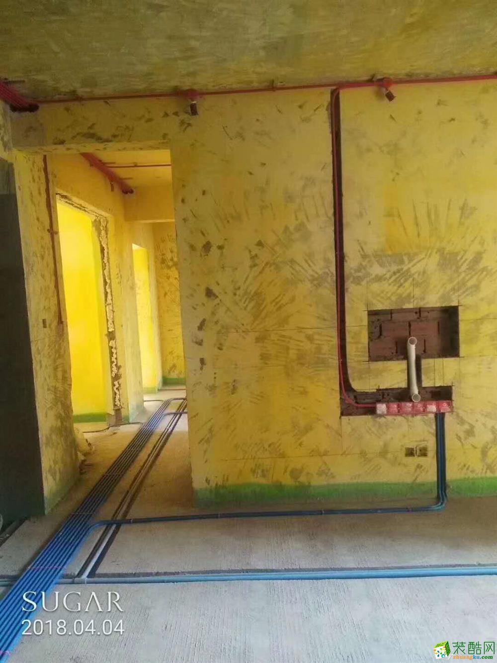 国博城-现场拍照水电工艺
