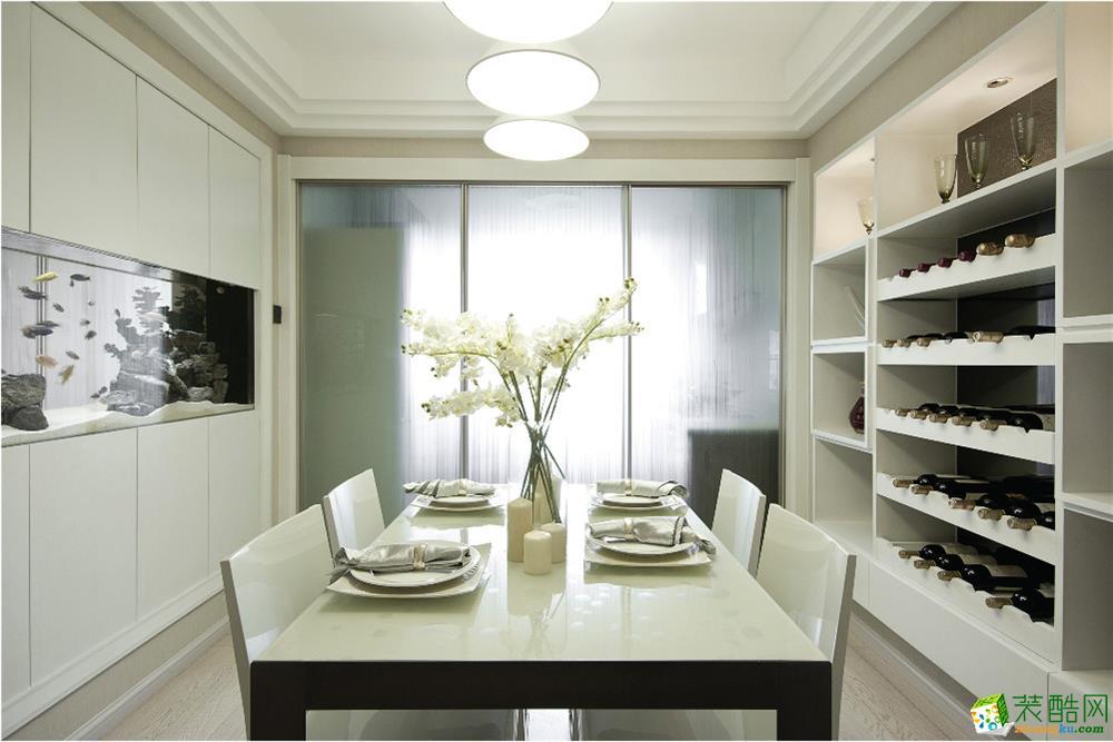 红玛瑙装饰--121平米现代简约风格三室两厅装修案例图