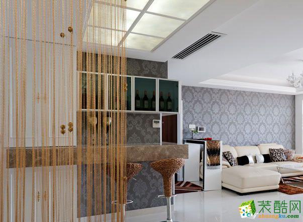 【远诺装饰】160�O现代简约风格四室装修效果图