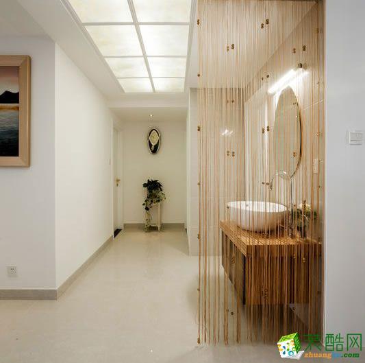 【远诺装饰】160�O现代简约风格四室装修效果图欣赏