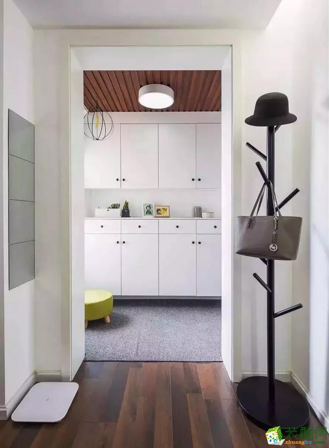 【构家装饰】118�O现代简约三室装修效果图