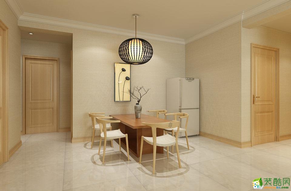 怒江上居装饰-中式两居室装修效果图