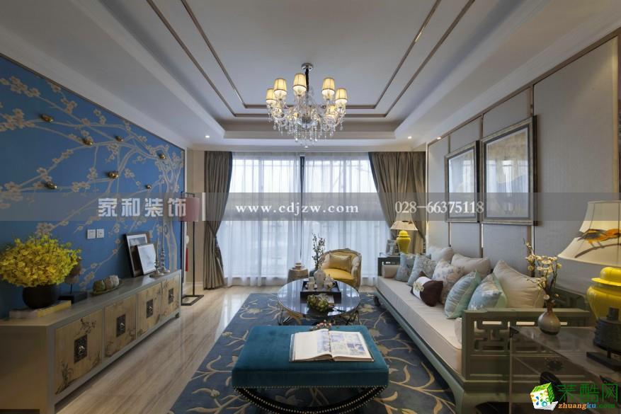 家和装饰-春天里80平米三室一厅装修实景案例图