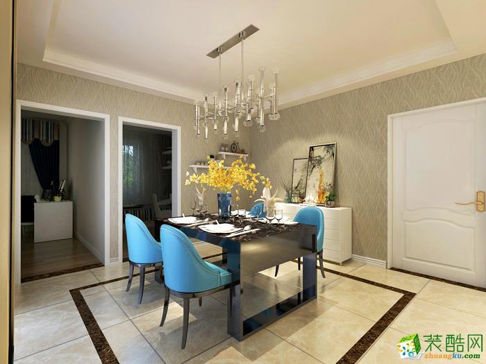 三室两厅|90平米|北欧风格|装修效果图