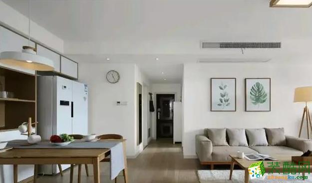 三室兩廳|100平米|現代風格|裝修效果圖