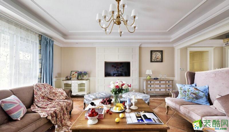 混搭风格130平米三室两厅装修实景案例图 琅蜂装饰