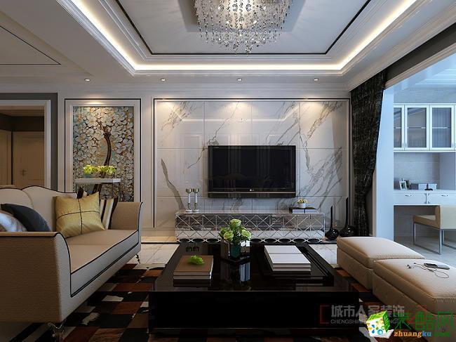 滨州城市人家| 丰泽御景138平现代低奢风格装饰设计效果图