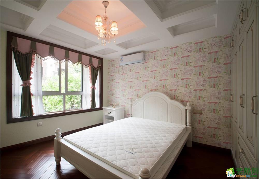 俊峰香格里拉130平米中式风格三居室装修实景案例图赏析|唐卡装饰