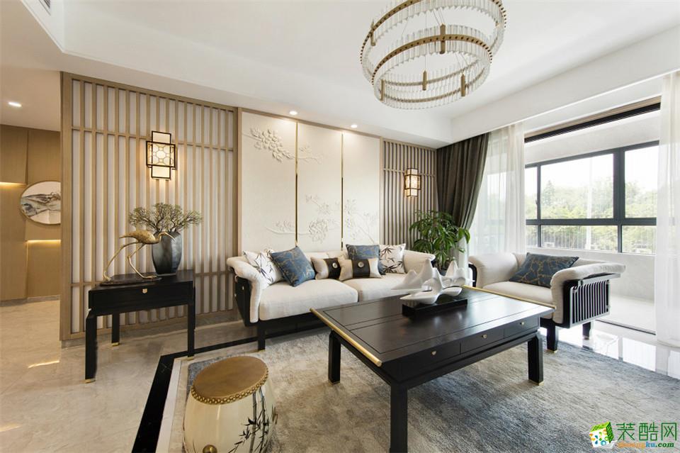 中德英伦联邦130平米中式风格四居室装修实景案例图|生活家装饰