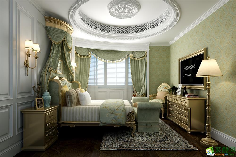 襄阳天下顶楼复式案例欣赏―美式风格