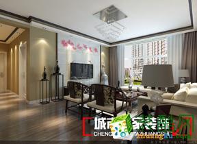 牡丹江城市人家装饰―威廉公馆98�O两室两厅装修效果图
