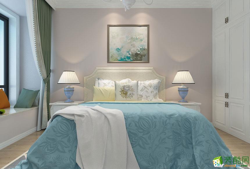 无锡欧景装饰-美式三居室装修效果图