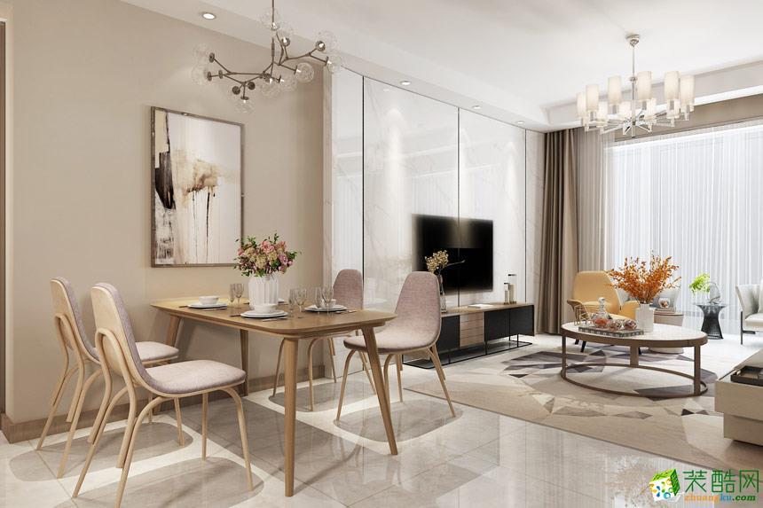 无锡金螳螂装饰-现代简约三居室装修效果图
