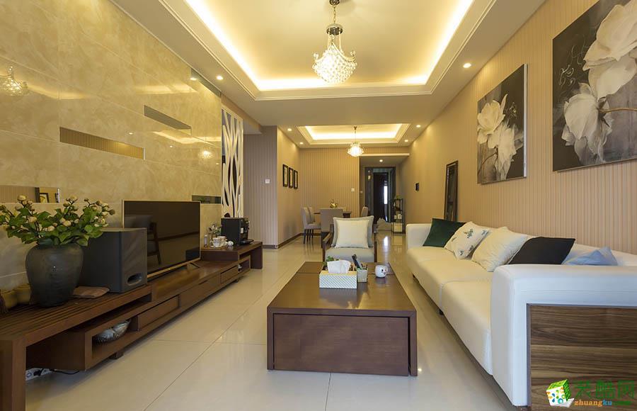 三室两厅|110平米|现代风格|装修效果图